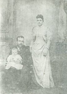 Arthur, Jennie, and Florence Backus Portrait