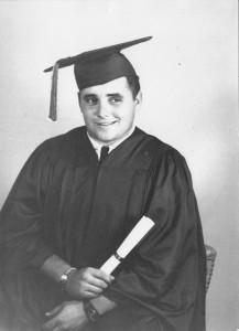 James Nead Davis Graduation Portrait