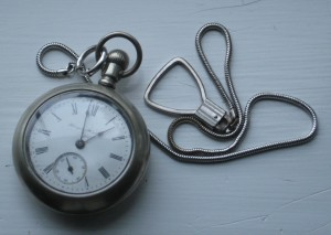 Sherman Harry Davis Pocket Watch