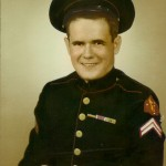 Woody Burl Davis Military Portrait