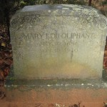 Mary Lou Oliphant Headstone