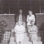 Mellie and Harmon Waits, Ruth Williams, and Unknown Picture