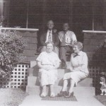 Mellie and Harmon Waits, Ralph Williams Sr., and Unknown Picture
