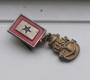 Nellie Ruth Williams Son-In-Service Navy Pin