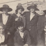 Ruth Waits, Alberta Waits, Jennie Waits, Helen Allen, Ruth Miller, May Allen, and May Waits Picture