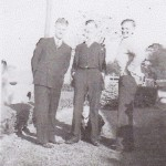 Unknown, Ernest Miller and Ralph Williams Sr. Picture