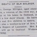 George Milligan Obituary