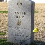 James H Fields Headstone