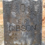 Emmit Rowland Gibson Headstone