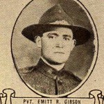 Emmit Rowland Gibson Military Portrait