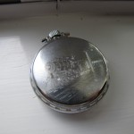 Donald Williams Pocket Watch Back