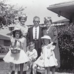 Annell, Oscar and Bonnie Mae Dahlberg, Margie, Michael, and Beth Hargrave Picture