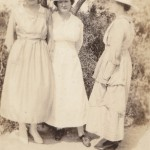 Unknown, Burla Mae Kirkpatrick, and Unknown Picture