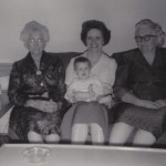 Kate Davis, Annell and Margie Hargrave, and Burla Mae Kirkpatrick Picture