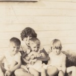 Woody, Erby, James, and Annell Davis Picture