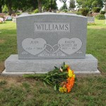Jean and Ralph Scott Williams Jr. Headstone