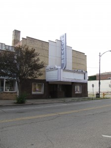 Louvee Theater Marquee, Wellston, Ohio