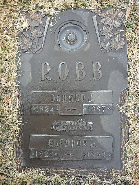 Donald Robb Grave Marker